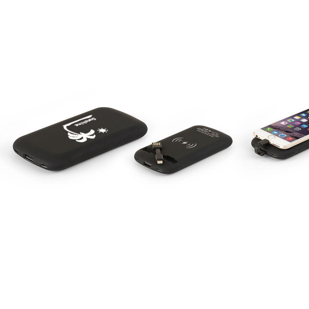 10.000 mAh Wireless Mobil Şarj Cihazı