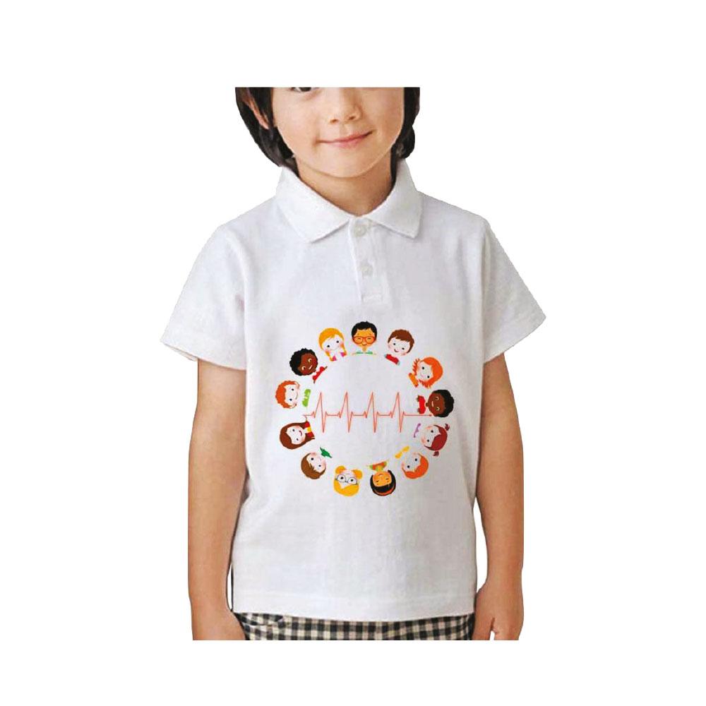 Yakalı Çocuk T-Shirt